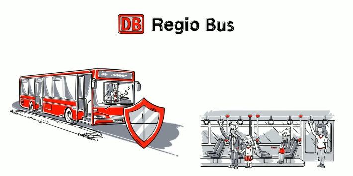 Film Sicher und geschützt Busfahren mit DB Regio Bus