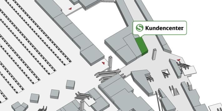Kundencenter S-Bahn München Hbf