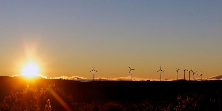 Klimaschutz, Windräder