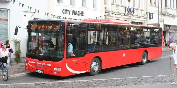 Bus in Herford