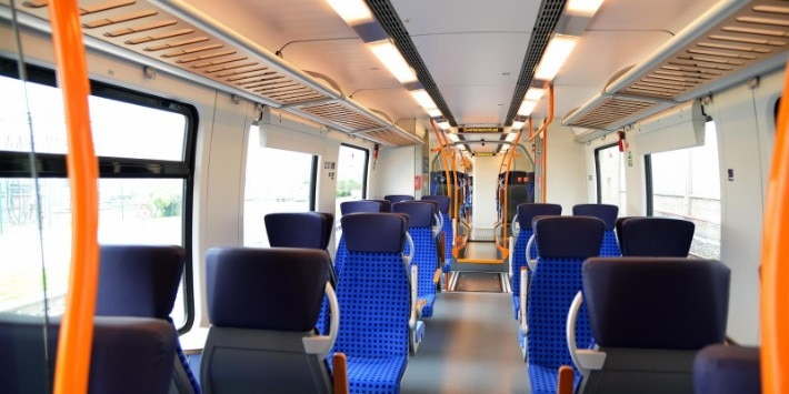 S-Bahn Mittendeutschland innen