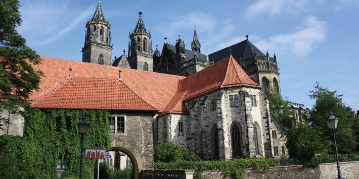 Magdeburger Dom Remtergang