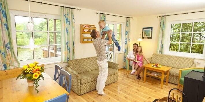 Familie im Dorfhotel Fleesensee