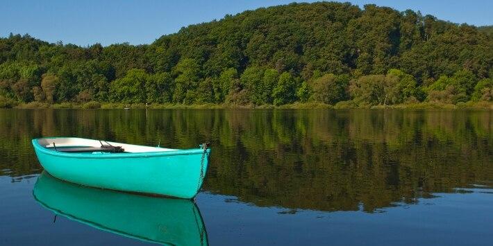 Boot auf dem Edersee