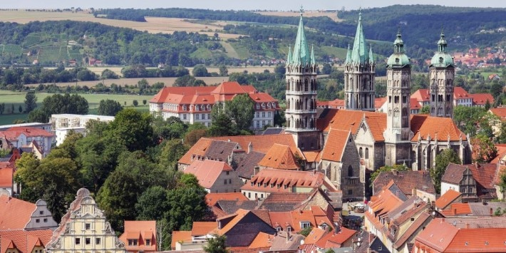 Naumburg in Sachsen-Anhalt