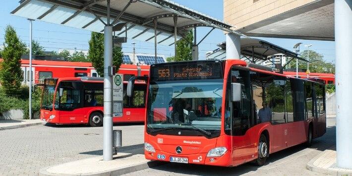 Verknüpfung Bus-Schiene