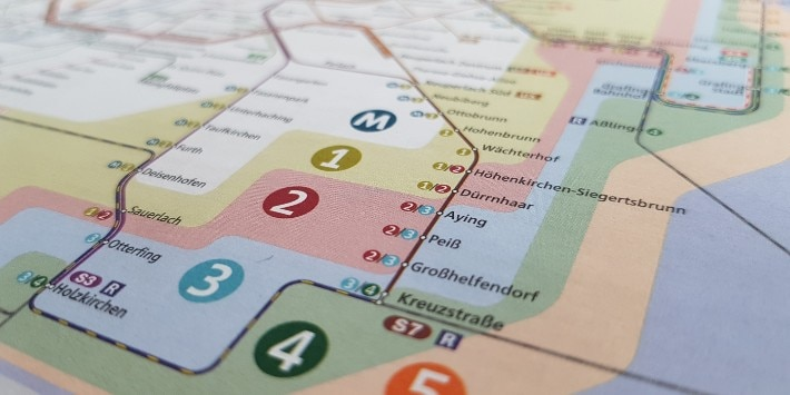 Linienplan S-Bahn München