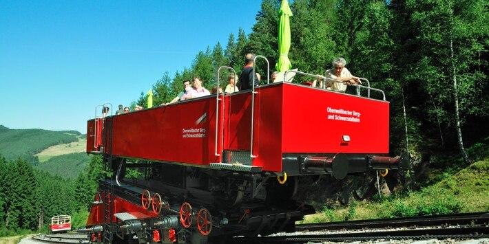 Cabrio Oberweißbacher Berg- und Schwarzatalbahn