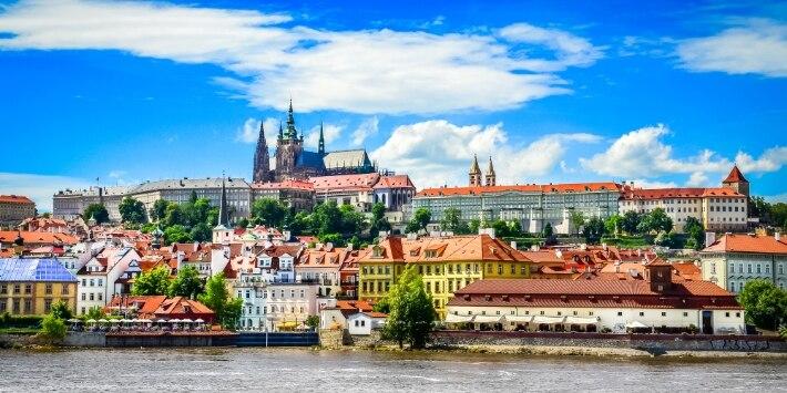 Prag Stadtansicht
