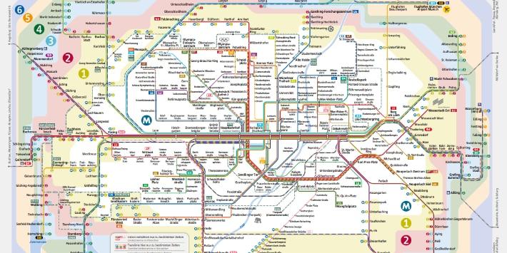 Netzplan S-Bahn München