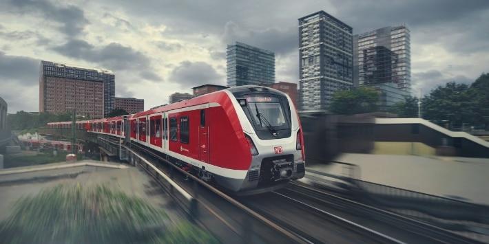 S-Bahn Hamburg am Berliner Tor