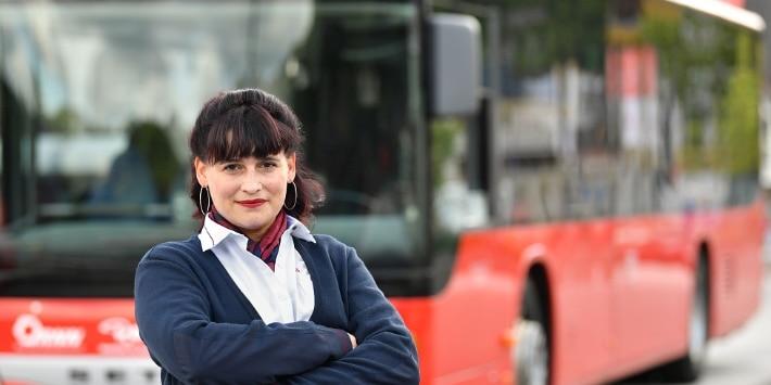Unterwegs mit DB Regio Bus
