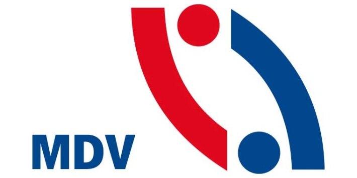 MDV, Mitteldeutscher Verkehrsverbund, Logo, Icon