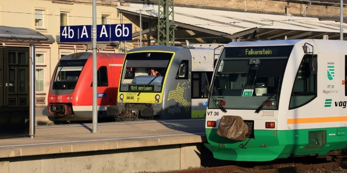 Züge, Wettbewerb im SPNV