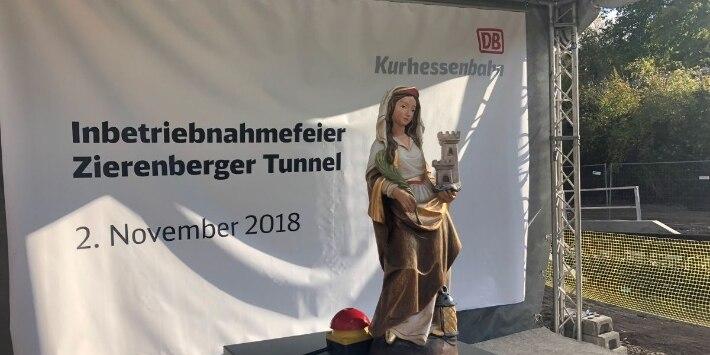Inbetriebnahmefeier Zierenberger Tunnel