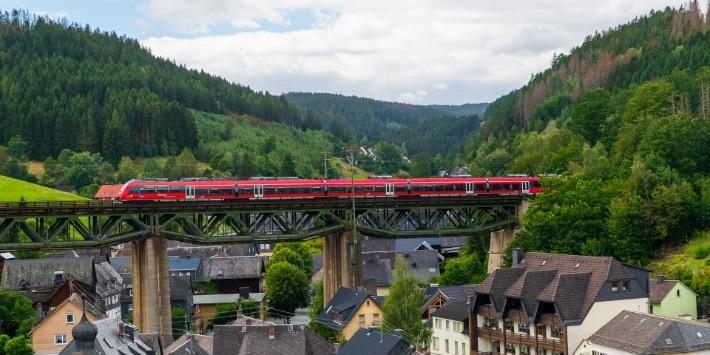Zug Brücke