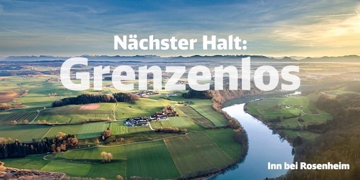 Nächster Halt: Grenzenlos, Inn bei Rosenheim