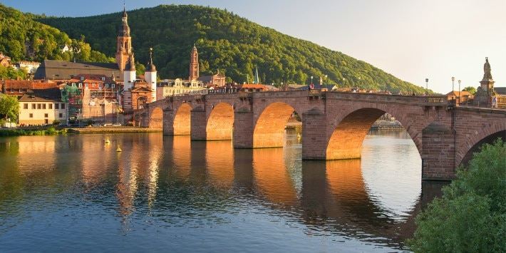 Heidelberg, Brücke, Neckar