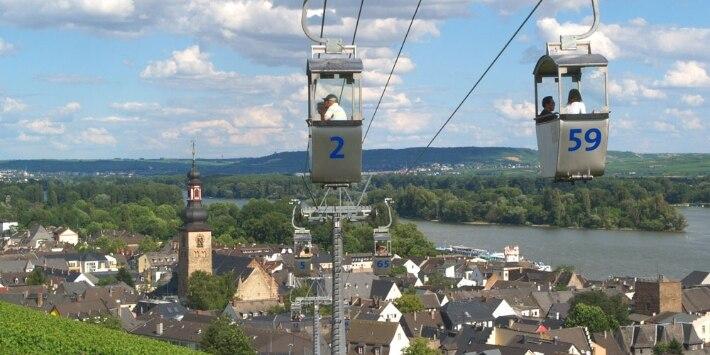 Seilbahn in Rüdesheim