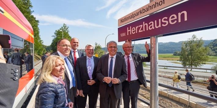 Nationalparkbahnhof Vöhl-Herzhausen
