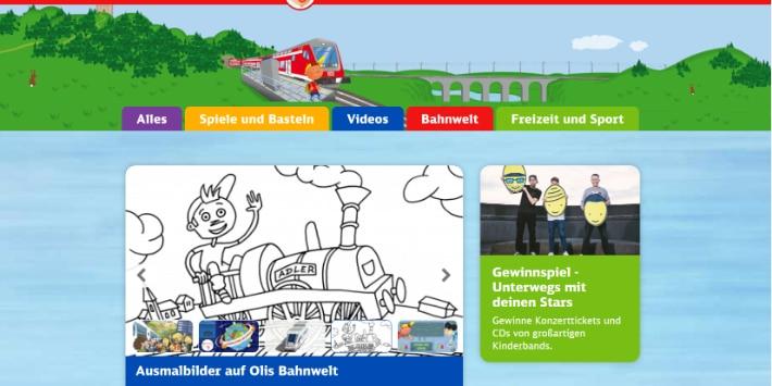Olis Bahnwelt Screenshot