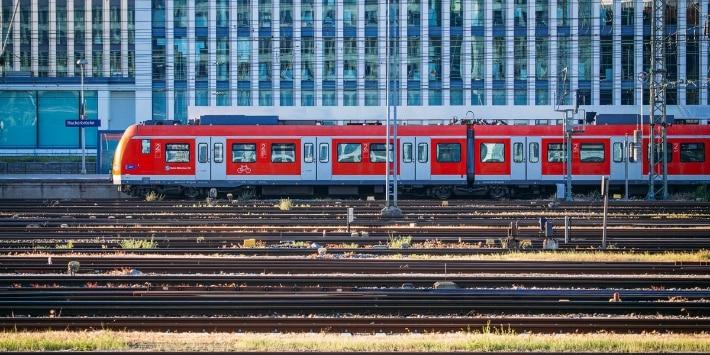 Zug der S-Bahn München