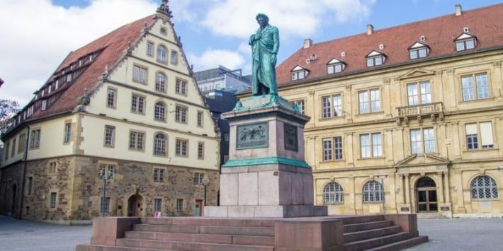 Schillerplatz in Stuttgart