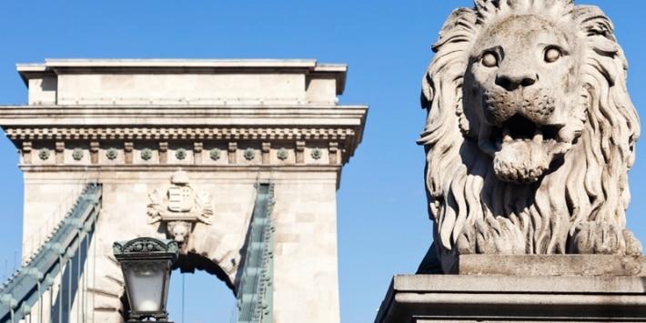 Kettenbrücke Budapest Ungarn