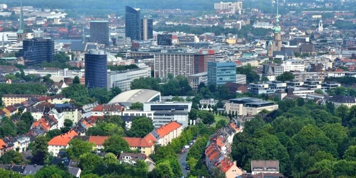 Blick über Dortmund