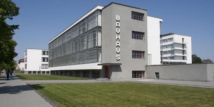 Bauhausgebäude Dessau, Walter Gropius, 1925/26