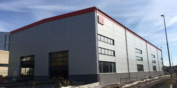 Werkstatt mit Betriebsgebäude