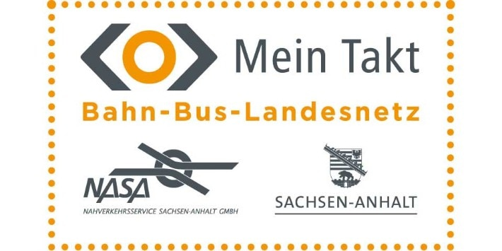 Nahverkehrsservice Sachsen-Anhalt Logo