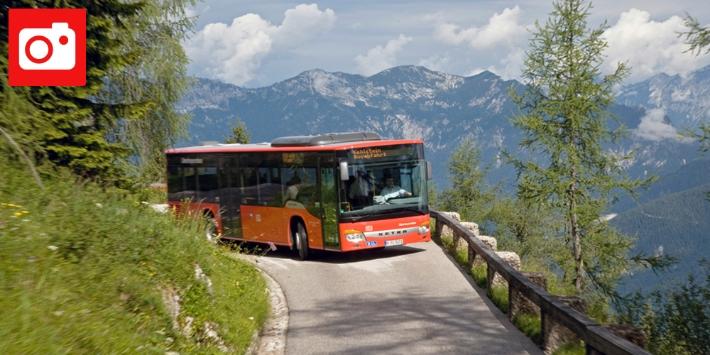 Oberbayernbus vorm Kehlstein