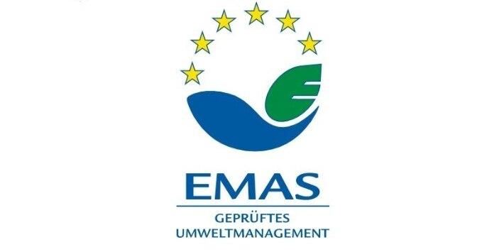EMAS - geprüftes Umweltmanagement Logo