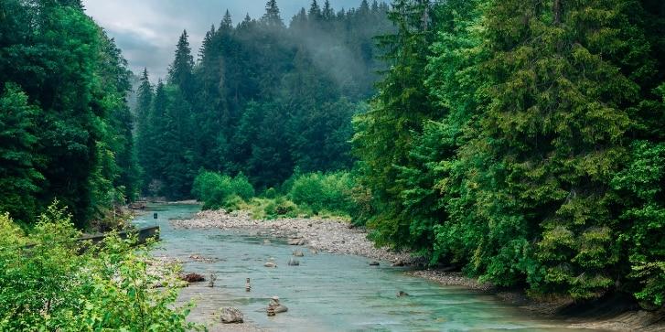 Naturpark Ammergauer Alpen, Fluss