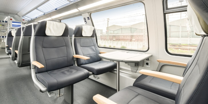 Main-Ried-Express Sitze