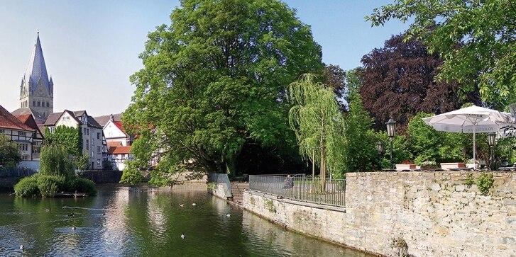 Blick auf Fluss in Soest