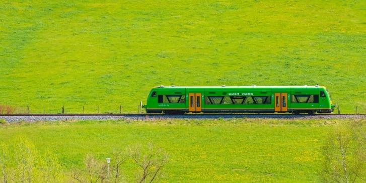 Grüner Zug