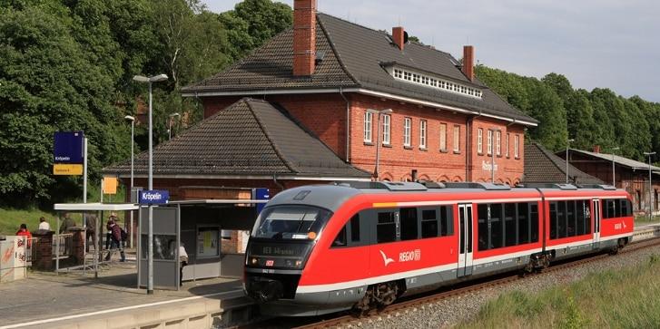 Halt in Kröpelin
