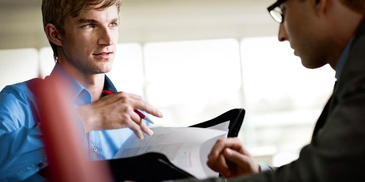 Besprechung, Büro, Kollegen, Business, Karriere