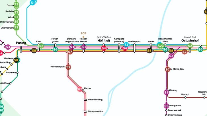 Live Map S-Bahn München