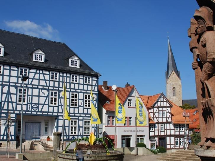 Altstadtensemble mit Roland