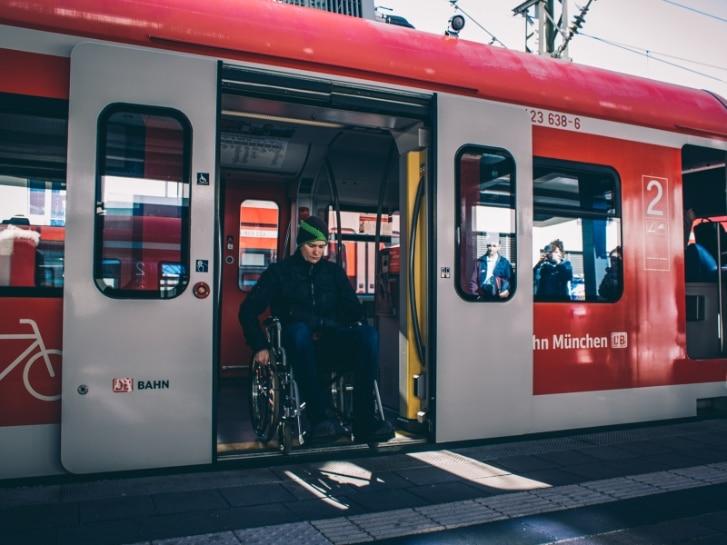 Barrierefrei fahren mit der S-Bahn München