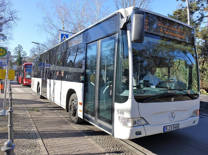 Bus Schienenersatzverkehr