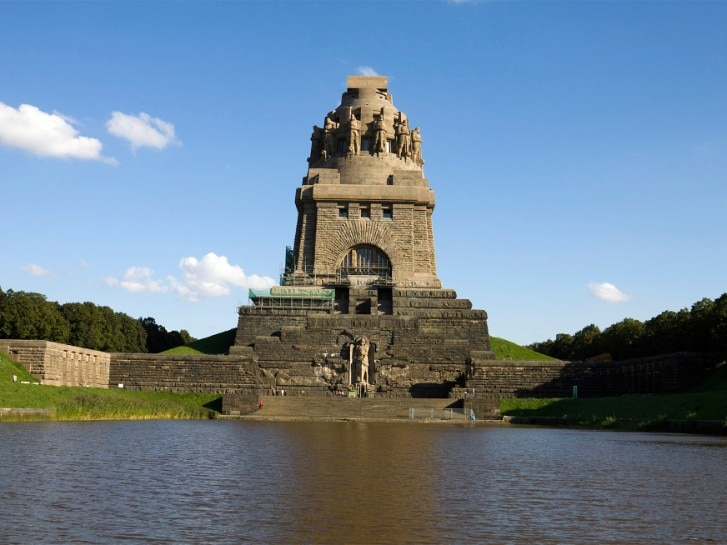 Monument to the Battle of Nations in Leipzig city