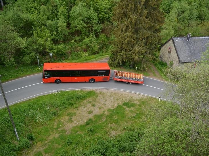 Fahrradbus Nationalpark Eifel