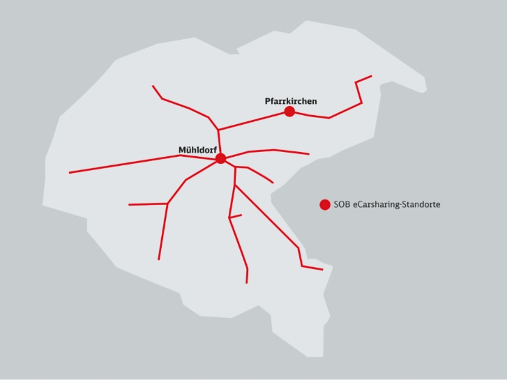 E-Carsharing-Standorte