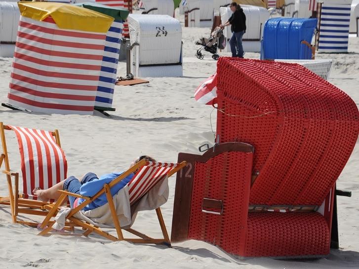 Borkum Strandkorb