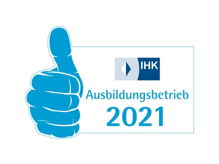 Logo IHK-Ausbildungsbetrieb