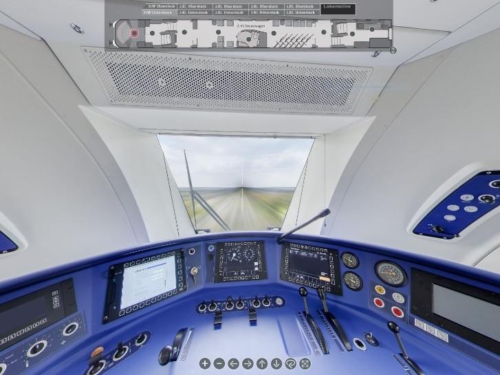 Virtuelles Cockpit IC 2